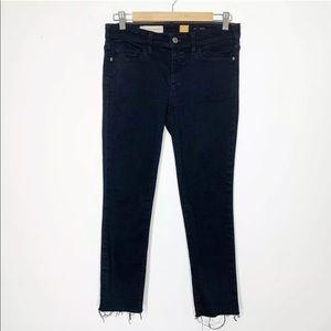 Anthropologie • Pilcro Serif fit cut off jeans
